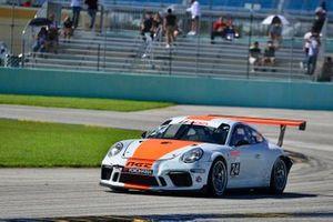 #24 MP1A Porsche GT3 Cup driven by Adan Ramos, George Hazbun, & Gabriel Ramos of NGT Motorsport