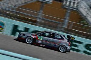 #39 MP3B Honda Civic driven by Jorge Ortiz, Axel Rivera, Enrique Gelpi, & Tommy Ballester of Race Factory Puerto Rico