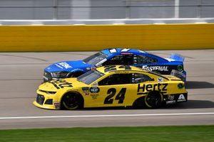 William Byron, Hendrick Motorsports, Chevrolet Camaro Hertz, Ricky Stenhouse Jr., Roush Fenway Racing, Ford Mustang