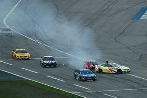 Cody Ware, Rick Ware Racing, Chevrolet Camaro, Tyler Reddick, Richard Childress Racing, Chevrolet Camaro Symbicort, crash