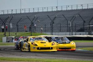 #99 TA Chevrolet Corvette driven by Lawrence Lepurage of Lone Wolf Racing