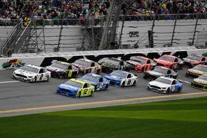 Ryan Blaney, Team Penske, Ford Mustang Menards/Peak, Brad Keselowski, Team Penske, Ford Mustang Miller Lite,