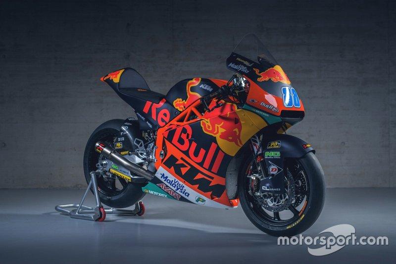 La moto di Jorge Martin, Red Bull KTM Ajo