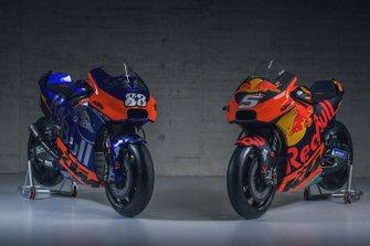 Red Bull KTM Racing and KTM Tech3 Racing bike