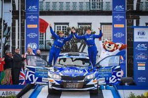 Łukasz Habaj, Daniel Dymurski, Skoda Fabia R5, Azores Rallye