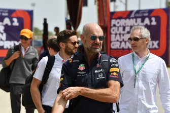 Adrian Newey, directeur technique, Red Bull Racing