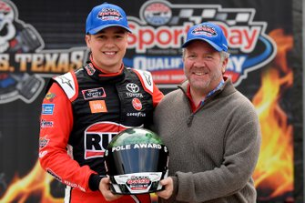 Christopher Bell, Joe Gibbs Racing, Toyota Supra Ruud, pole award