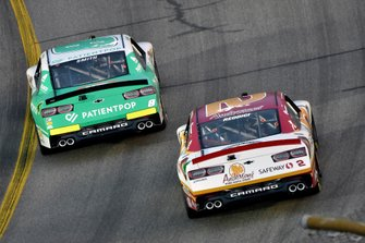 Zane Smith, JR Motorsports, Chevrolet Camaro PatientPop and Tyler Reddick, Richard Childress Racing, Chevrolet Camaro Anderson's Maple Syrup