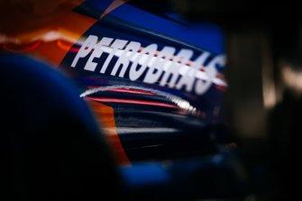 Le logo Petrobras sur la McLaren MCL34