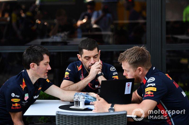Red Bull Racing mühendisleri