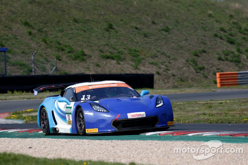 #13 RWT Racing Corvette C7 GT3-R: Sven Barth, David Jahn
