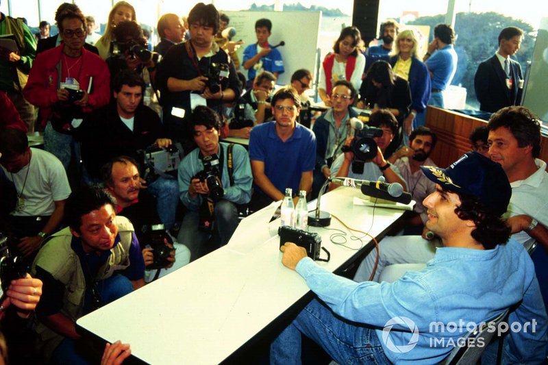 Nelson Piquet fails to finish the race, but becomes World Drivers Champion for the 3rd time