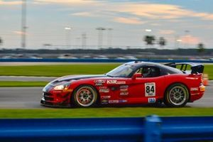 #84 TA3 Dodge Viper driven by Lee Saunders
