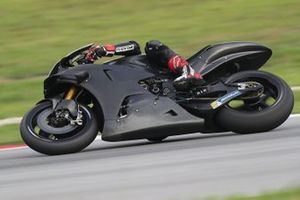 Bike vom Yamaha Test Team