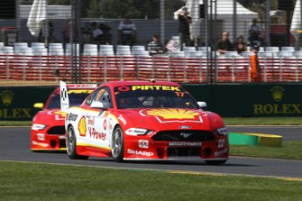 Scott McLaughlin, DJR Team Penske, Fabian Coulthard, DJR Team Penske