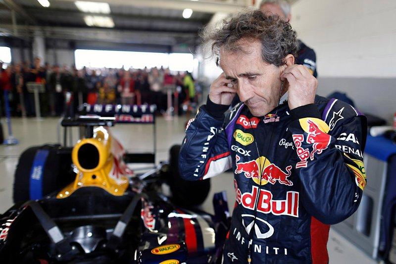Alain Prost, Red Bull Racing RB8