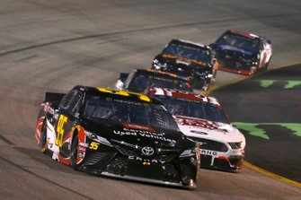 Matt DiBenedetto, Leavine Family Racing, Toyota Camry Toyota Certified Used Vehicle / Toyota Owners and David Ragan, Front Row Motorsports, Ford Mustang MDS Transport