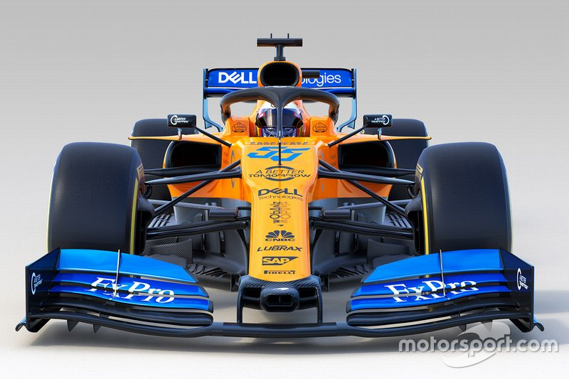 Автомобиль McLaren MCL34