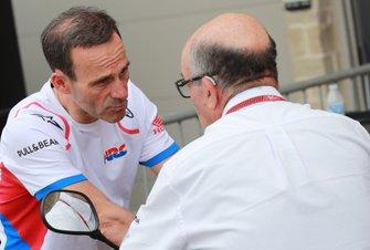 Alberto Puig, Repsol Honda Team Team Principal, Carmelo Ezpeleta, CEO Dorna Sports