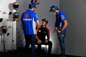 Joan Mir, Team Suzuki MotoGP, Maverick Vinales, Aprilia Racing Team Gresini, Alex Rins, Team Suzuki MotoGP