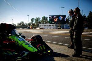 Ed Jones, Dale Coyne Racing with Vasser Sullivan Honda, Daly Coyne