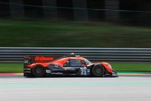 #25 G-Drive Racing Aurus 01 - Gibson LMP2, John Falb, Rui Andrade, Roberto Merhi