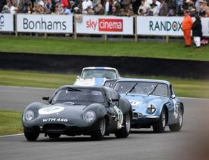 Royal Automobile Club TT Celebration Frederick Wakeman Emanuele Pirro Lister Jaguar Coupe