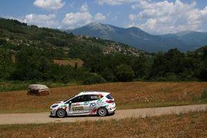 Roberto Daprà, Chiara Lombardi, Ford Fiesta RC4