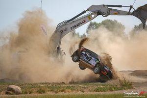 Alexey Lukyanuk, Yaroslav Fedorov, Skoda Fabia Rally2 evo