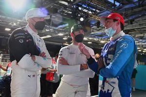 Jake Dennis, BMW i Andretti Motorsport, Norman Nato, Venturi Racing, Alex Lynn, Mahindra Racing