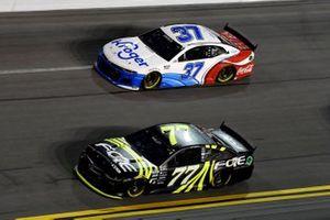Justin Haley, Spire Motorsports, Chevrolet Camaro FOE, Ryan Preece, JTG Daugherty Racing, Chevrolet Camaro Kroger/Coca-Cola