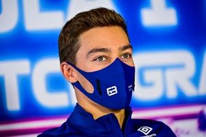 George Russell, Williams in conferenza stampa