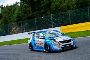 Jimmy Clairet, Team Clairet Sport, Peugeot 308 TCR