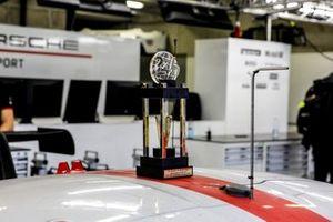 LMGTE Pro third place trophy for #92 Porsche GT Team Porsche 911 RSR - 19 LMGTE Pro, Kevin Estre, Neel Jani, Michael Christensen
