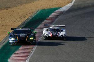 #27: Heart Of Racing Team Aston Martin Vantage GT3, GTD: Ian James, Alex Riberas, #55: Mazda Motorsports Mazda DPi, DPi: Harry Tincknell, Oliver Jarvis