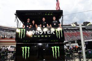 Kurt Busch, Chip Ganassi Racing, Chevrolet Camaro Monster Energy, Monster Guest