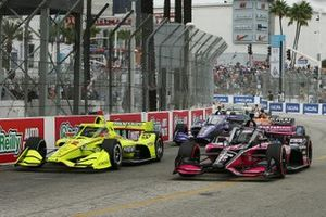 Simon Pagenaud, Team Penske Chevrolet, Helio Castroneves, Meyer Shank Racing Honda