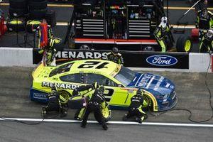 Ryan Blaney, Team Penske, Ford Mustang Menards / Maytag