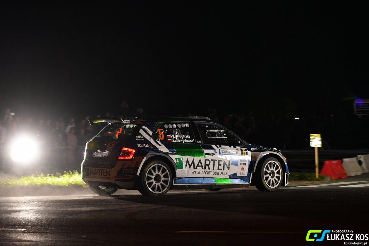 Wojciech Chuchała/Sebastian Rozwadowski Skoda Fabia Rally2 evo