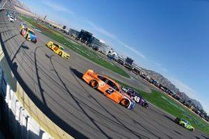 Brad Keselowski, Team Penske, Ford Mustang Autotrader and Joey Logano, Team Penske, Ford Mustang Shell Pennzoil