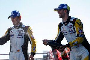 #3: Corvette Racing Corvette C8.R, GTLM: Antonio Garcia, Jordan Taylor, Champagne