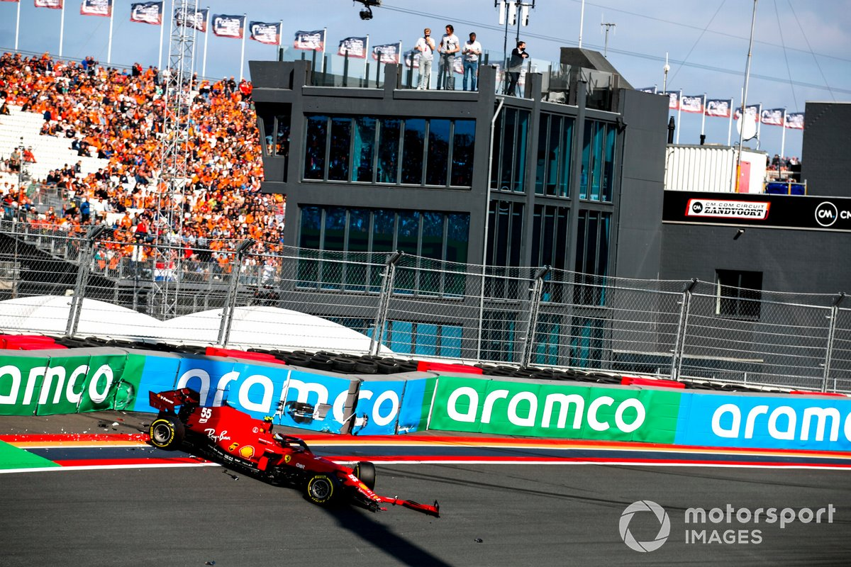 Coche de Carlos Sainz Jr., Ferrari SF21