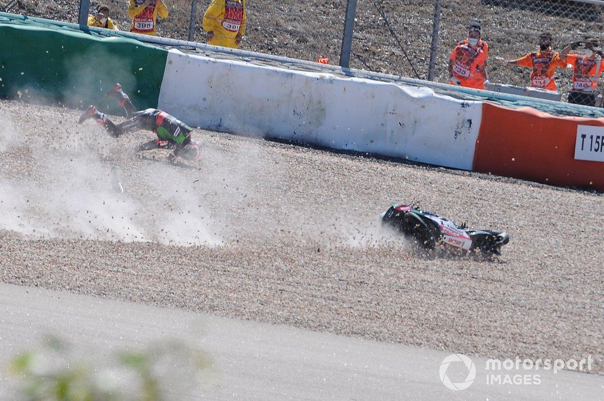 Secuencia de la caída de Jonathan Rea, Kawasaki Racing Team WorldSBK
