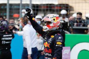 Pole man Max Verstappen, Red Bull Racing