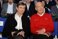 Pascal Vasselon, Toyota Racing y Dr. Wolfgang Ullrich, Audi Sport