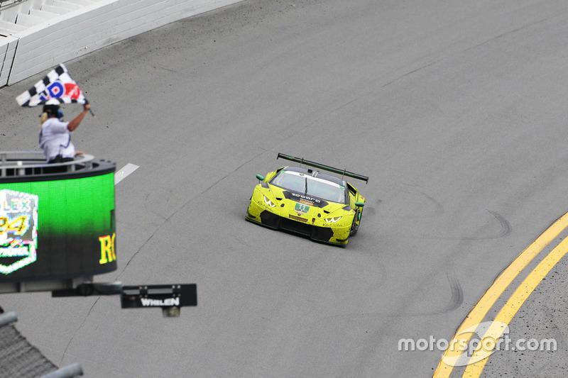 #11 O'Gara Motorsport Lamborghini Huracan GT3: Townsend Bell, Bill Sweedler, Edoardo Piscopo, Richar