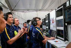 Team members Renault e.Dams