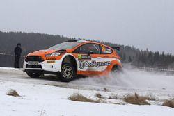 Fredrik Ahlin, Morten Erik Abrahamsen, Ford Fiesta R5