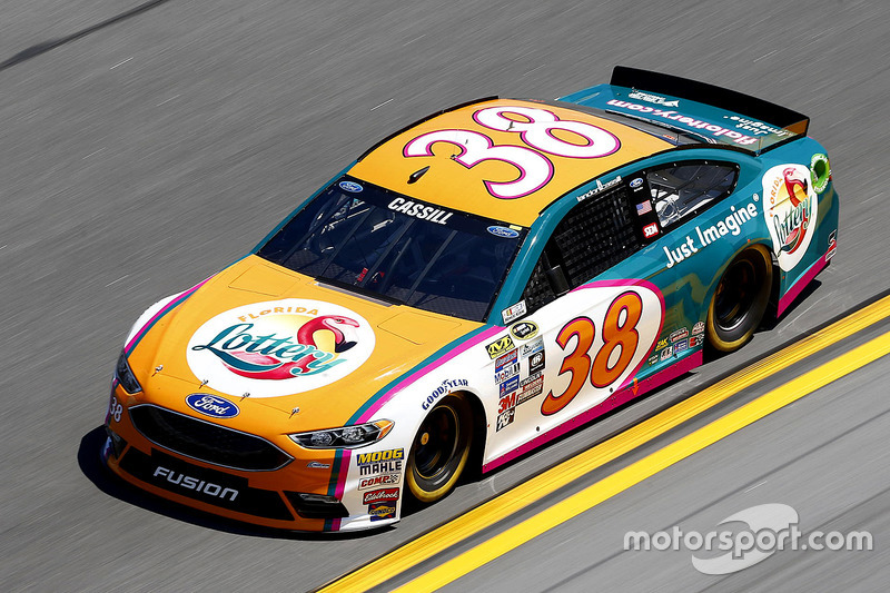 #38 Landon Cassill (Front-Row-Ford)