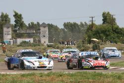 Guillermo Ortelli, JP Racing Chevrolet, Matias Rodriguez, Trotta Competicion Dodge